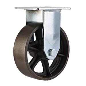 Ruedas de hierro fundido r gidos cicr 4 5 6 8 ruedas for Ruedas industriales antiguas para muebles