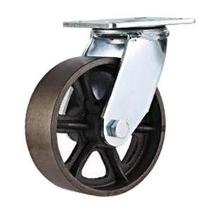 Las ruedas de hierro fundido cics 4 5 6 8 ruedas de - Ruedas giratorias para muebles ...